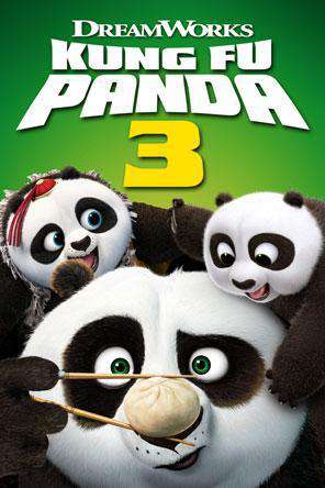Kung Fu Panda 3, Movie on DVD, Action Movies, Animated Movies, Kids Movies, Family