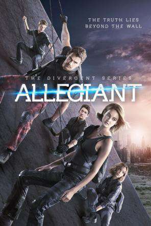 The Divergent Series: Allegiant - Part 1, Movie on DVD, Action Movies, Adventure Movies, Sci-Fi & Fantasy