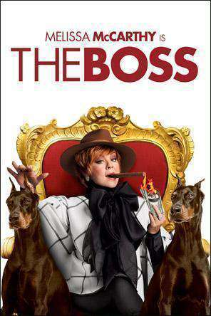 The Boss, Movie on DVD, Comedy Movies, Comedy