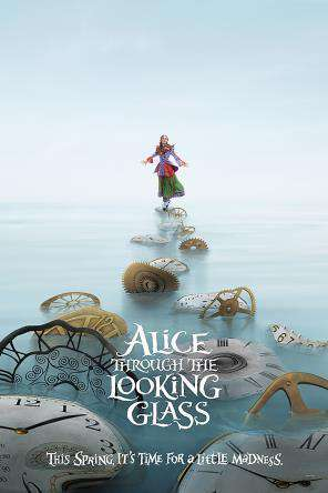 Alice Through The Looking Glass, Movie on DVD, Family Movies, Special Interest