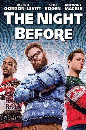 The Night Before, Movie on DVD, Comedy