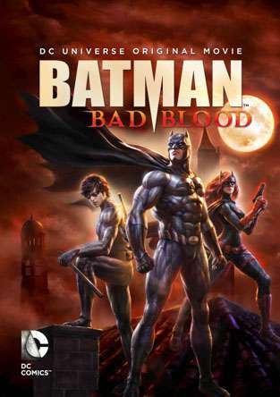Batman: Bad Blood, Movie on DVD, Action Movies, Animation