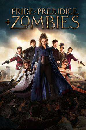 Pride and Prejudice and Zombies, Movie on DVD, Horror Movies, Action
