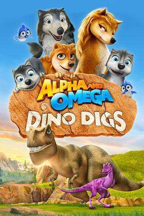 Alpha and Omega - Dino Digs, Movie on DVD, Animated Movies, Family