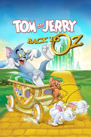 Tom and Jerry: Back to Oz, Movie on DVD, Adventure Movies, Animated Movies, Kids