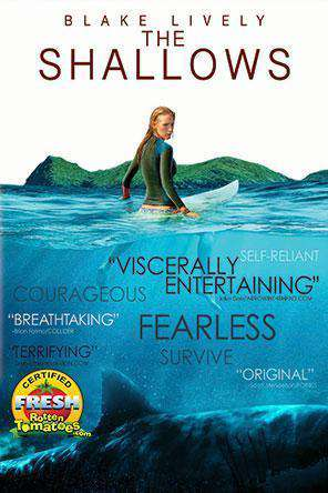 The Shallows, Movie on DVD, Drama Movies, Thriller & Suspense