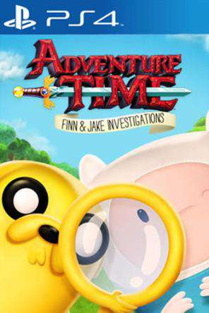 Adventure Time: Finn & Jake Investigations, Game on PS4, Action