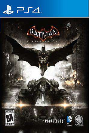 Batman: Arkham Knight, Game on PS4, Action