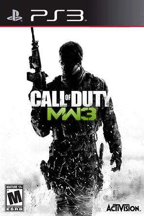Call of Duty: Modern Warfare 3, Game on PS3, Shooter