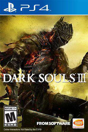 Dark Souls III, Game on PS4, Action