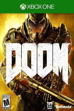 Doom Xbox One, Game on XBOXONE, Shooter