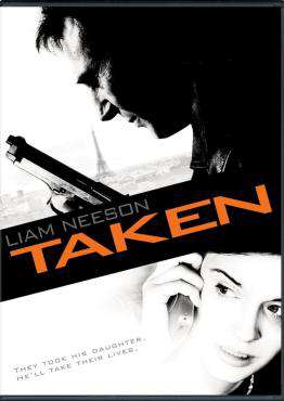 Taken, Movie on DVD, Action