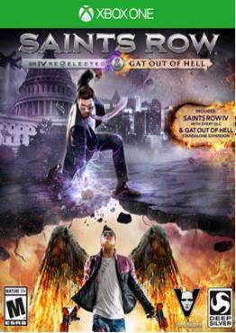 Saints Row IV: Re-Elected + Gat Out of Hell Xbox One, Game on XBOXONE, Action Video Games, ,  on XBOXONE