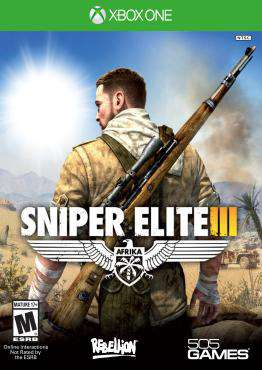 Sniper Elite III: Afrika Xbox One, Game on XBOXONE, Shooter Video Games, ,  on XBOXONE