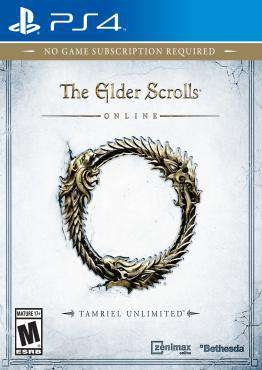 Elder Scrolls Online, Game on PS4, Action Video Games, ,  on PS4
