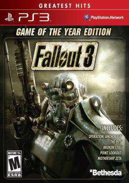 Fallout 3, Game on PS3, Action Video Games, ,  on PS3