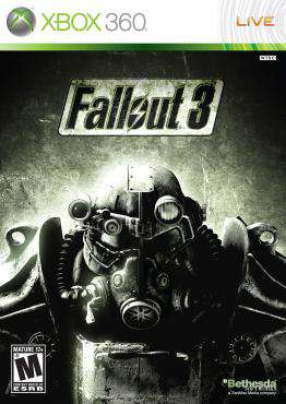 Fallout 3 Xbox 360, Game on XBOX360, Action Video Games, ,  on XBOX360