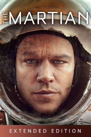 The Martian - Extended Edition, On Demand Movie, Action DigitalMovies, Adventure