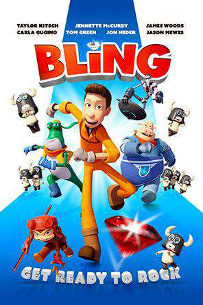 Bling, Movie on DVD, Action Movies, Animated Movies, Comedy