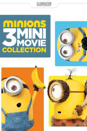 Minions 3 Mini-Movies Collection, On Demand Movie, Adventure DigitalMovies, Animated DigitalMovies, Comedy DigitalMovies, Family