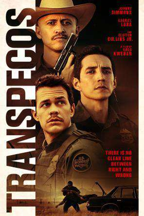 Transpecos, Movie on DVD, Thriller & Suspense