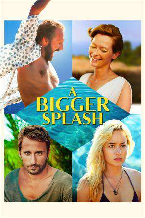 A Bigger Splash, Movie on DVD, Drama