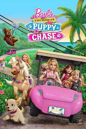 Barbie & Her Sisters in a Puppy Chase, Movie on DVD, Adventure Movies, Animated Movies, Kids Movies, Family