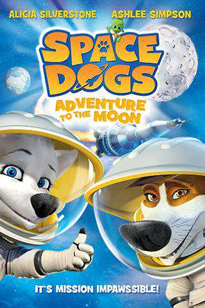 Space Dogs (2016), Movie on DVD, Animated Movies, Family