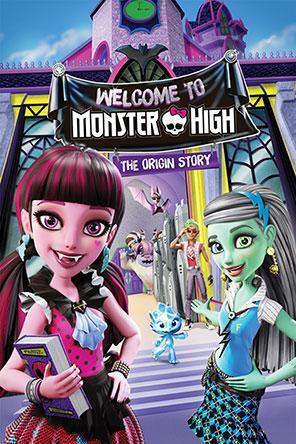 Monster High: Welcome to Monster High, On Demand Movie, Animated DigitalMovies, Sci-Fi & Fantasy DigitalMovies, Fantasy DigitalMovies, Sci-Fi