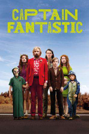 Captain Fantastic, Movie on DVD, Drama