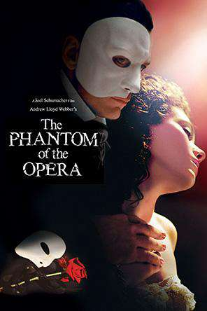 The Phantom of the Opera (2012), Movie on DVD, Drama