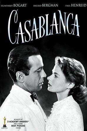 Casablanca, On Demand Movie, Action DigitalMovies, Drama DigitalMovies, Romance