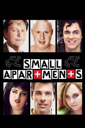 Small Apartments, Movie on DVD, Comedy Movies, Drama