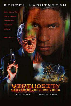 Virtuosity, Movie on DVD, Action Movies, Drama Movies, Sci-Fi & Fantasy Movies, Thriller & Suspense