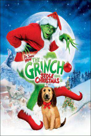 Dr. Seuss' How the Grinch Stole Christmas (2000), On Demand Movie, Comedy DigitalMovies, Family DigitalMovies, Kids