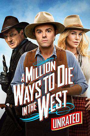 A Million Ways To Die In The West (Unrated), On Demand Movie, Action DigitalMovies, Comedy