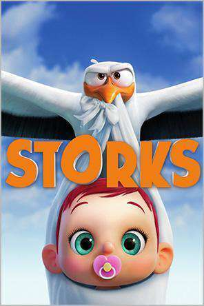Storks, Movie on DVD, Family Movies, Kids
