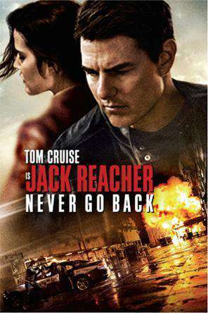 Jack Reacher: Never Go Back, Movie on DVD, Action Movies, Thriller & Suspense