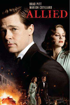 Allied, Movie on DVD, Drama Movies, Romance Movies, Thriller & Suspense Movies, Action