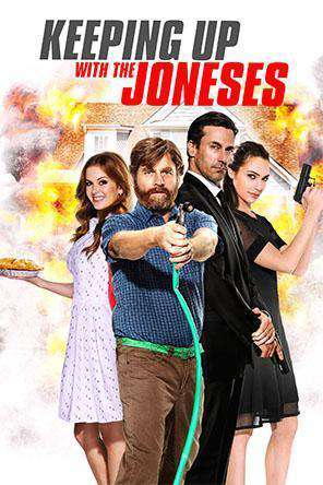 Keeping Up With The Joneses, Movie on DVD, Action Movies, Comedy