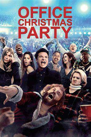 Office Christmas Party, Movie on DVD, Comedy
