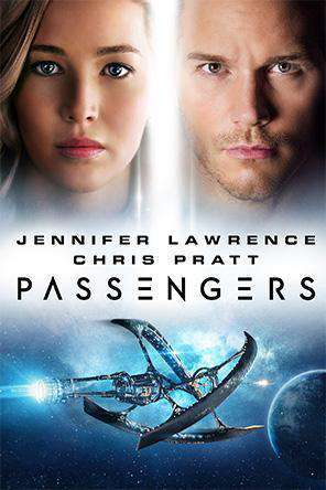 Passengers (2017), Movie on DVD, Drama Movies, Romance Movies, Sci-Fi & Fantasy