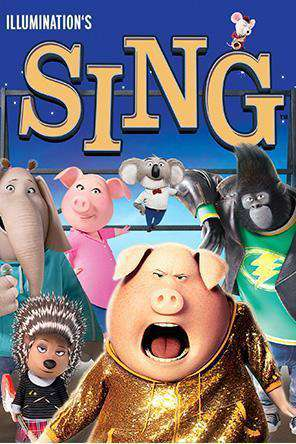 Sing, Movie on DVD, Family