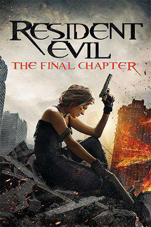 Resident Evil: The Final Chapter, On Demand Movie, Action DigitalMovies, Horror