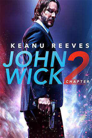 John Wick: Chapter Two, Movie on DVD, Action Movies, Thriller & Suspense