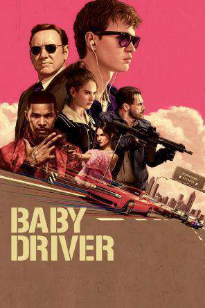 Baby Driver, Movie on DVD, Action