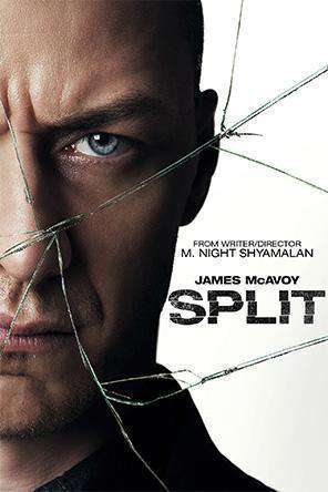 Split, Movie on DVD, Thriller & Suspense