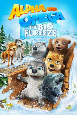 Alpha and Omega: The Big Fureeze, Movie on DVD, Animated Movies, Family