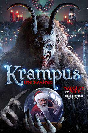 Krampus Unleashed, Movie on DVD, Horror Movies, Seasonal