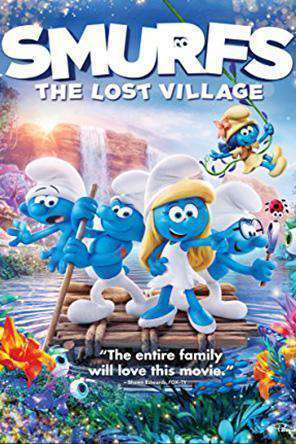 Smurfs: The Lost Village, Movie on DVD, Family